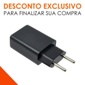 Carregador Fonte + Cabo Turbo Power Motorola