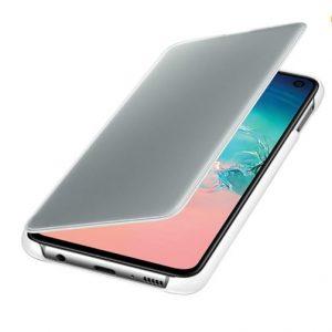 Capa Protetora Clear View Samsung S10e Branca